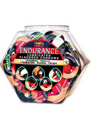 Endurance Lubricated Flavored Condoms 144 Per Bowl