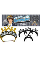 Groom Crown Set
