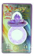 Ring Of Xtasy Turtle Series Vibrating Silicone Cock Ring...