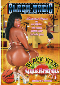 Black Teen Apple Bottoms 03